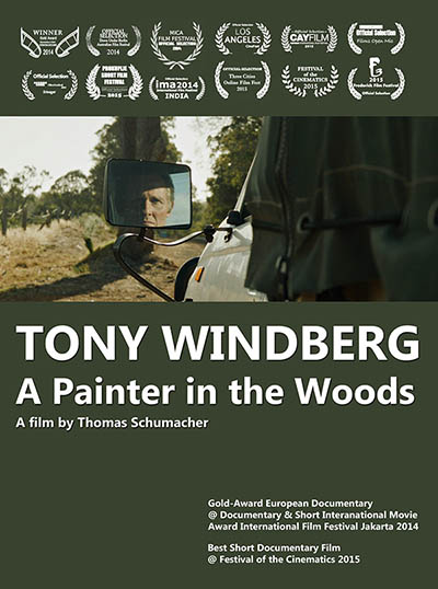 Tony Windberg. A Painter in the Woods
