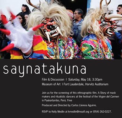 Saynatakuna. Masks and Transfigurations in Paukartambo