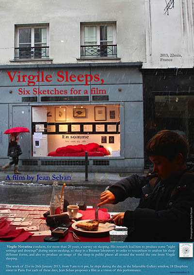 Virgile sleeps, 6 sketches for a film