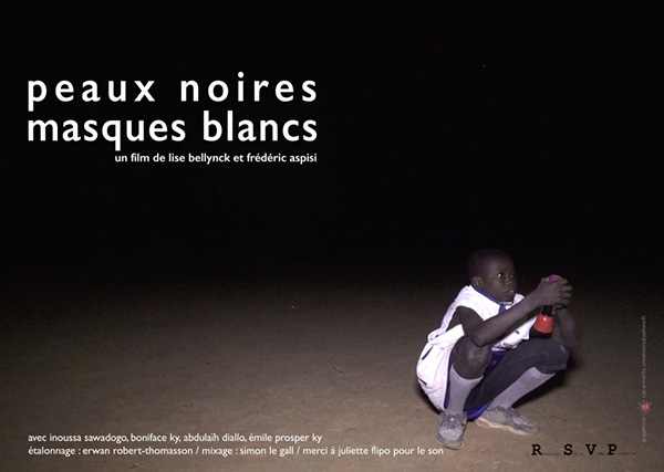 black skins, white masks