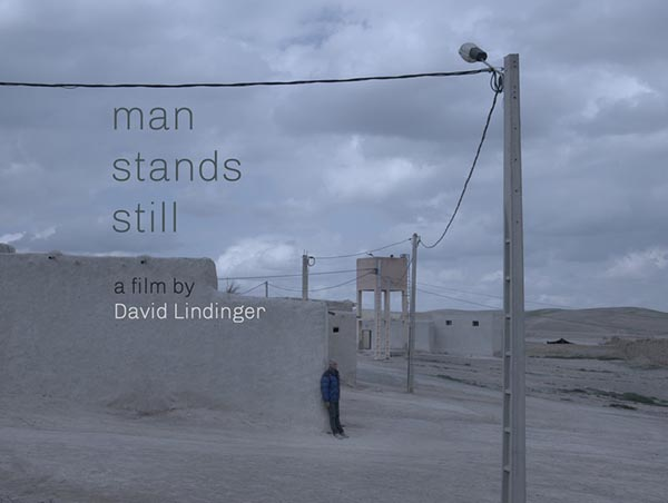 Man stands still