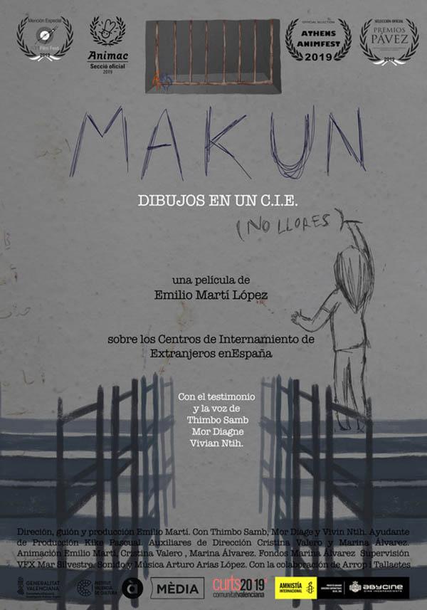 Makun (No Llores): Dibujos en un C.I.E.